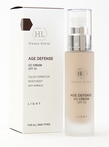 AGE DEFENSE CC Cream Light SPF-50